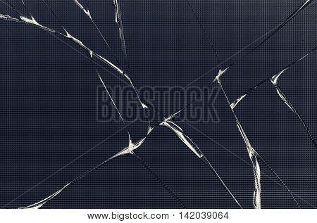 Broken LCD screen texture