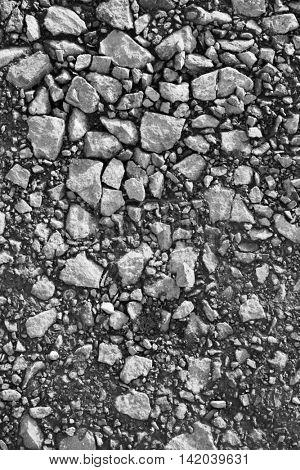 Dirt road detail