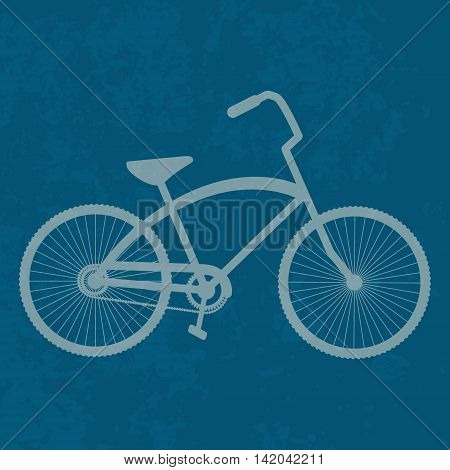 Vintage Bicycle, Retro bike, Vector illustration EPS10