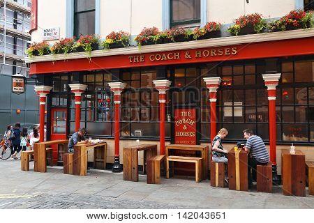 Pub In Soho