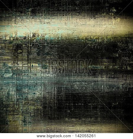 Art grunge texture for creative design or scrap-book. With vintage style decor and different color patterns: yellow (beige); brown; gray; blue; black