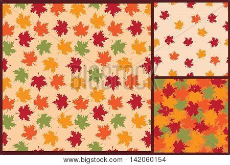 autumn leaves, leaves pattern, autumn pattern, leaves background, autumn background, autumn seamless pattern