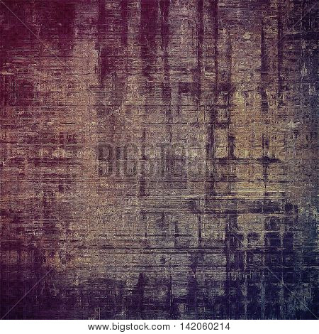 Stylish grunge texture, old damaged background. With different color patterns: yellow (beige); gray; blue; purple (violet); pink