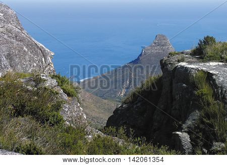 View From Table Mountain, Cape Town South Africa