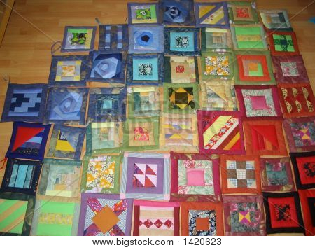 Uncompleted Quilting