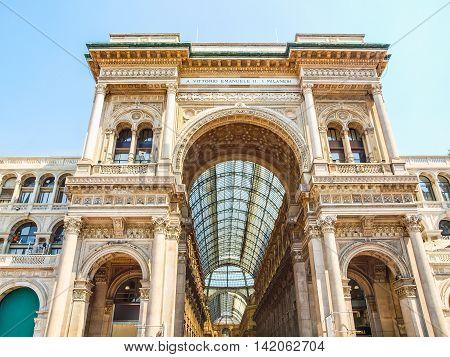 Galleria Vittorio Emanuele Ii, Milan Hdr