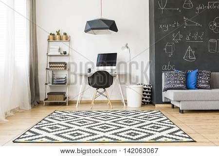 Stylish Room For A Student