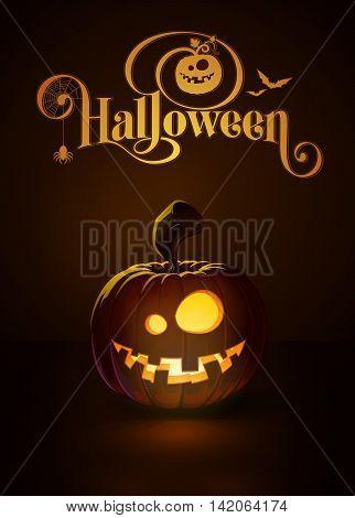 Jack-o-lantern Dark Dummy