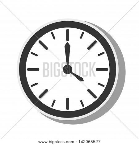 watch clock time timer element dials hands instrument vector graphic isolated and flat illustration