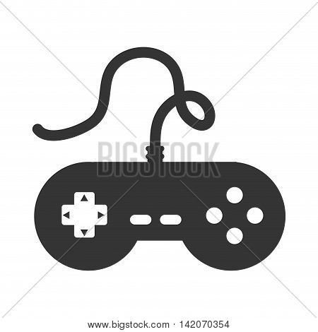 control game button joystick arrow controller gamer play gadgetelectronic technology devices vector graphic isolated and flat illustration