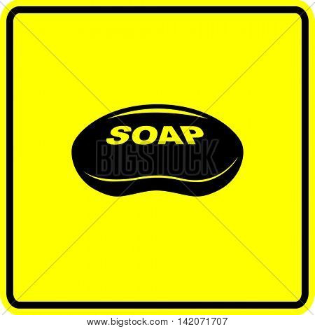 soap bar sign