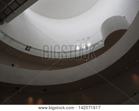 BANGKOK THAILAND - AUGUST 7 2016: Bangkok Art and Culture Centre. It is famous exhibition and contemporary arts in Bangkok.
