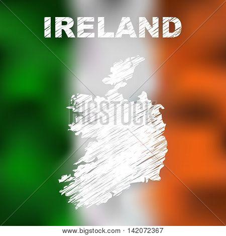 Irish Abstract Map
