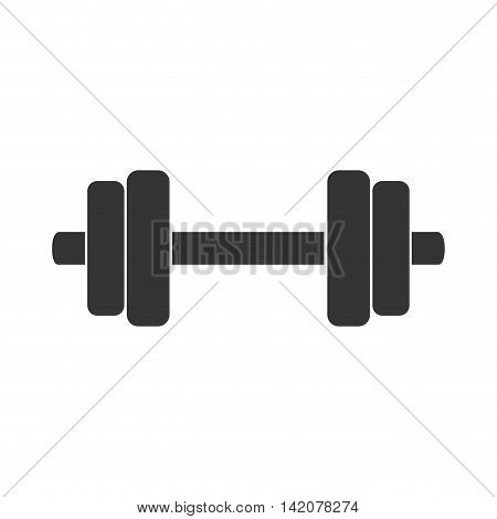 barbell power weight heavy muscle sport gym athletic vector graphic isolated and flat illustration