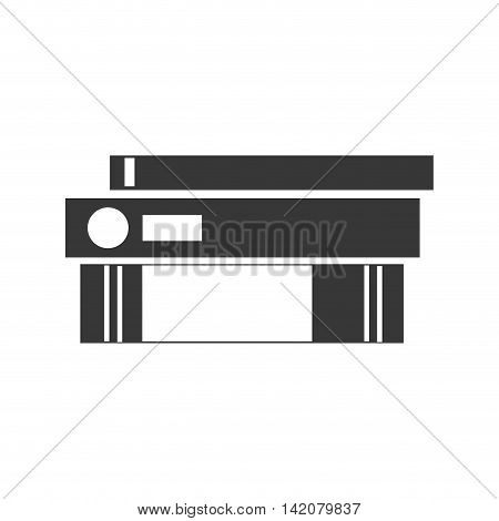 binder folder office document business stack files vector graphic isolated and flat illustration