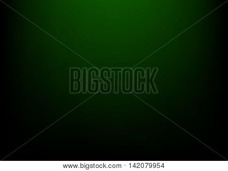 Dark green clear empty studio light vector backgrounds for product presentation, a4 format