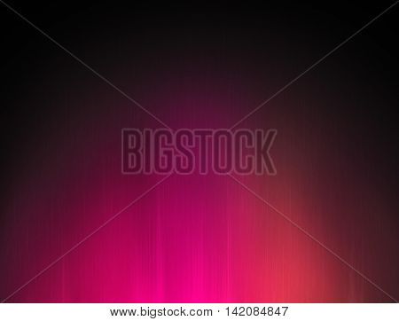 Abstract deep pink light glow background. Raster illustration.