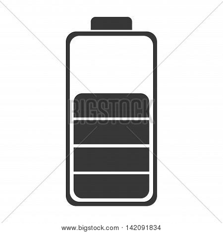 battery charge electric technology symbol energy vector graphic isolated and flat illustration