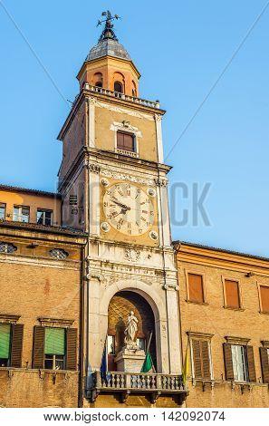 Palazzo Comunale Of Modena, In Emilia-romagna. Italy.