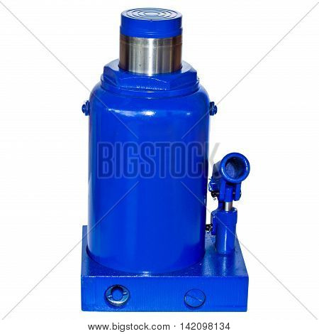 Fifty tonn Hydraulic Bottle Car Jack on white background