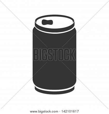 can soda drink aluminum liquid food bottle beverage vector graphic isolated and flat illustration