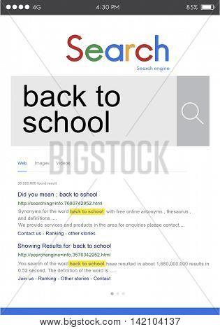 Back to School Education Knowledge Study Wisdom Concept