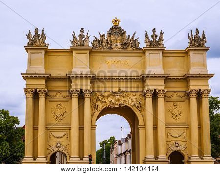 Brandenburger Tor In Potsdam Berlin Hdr