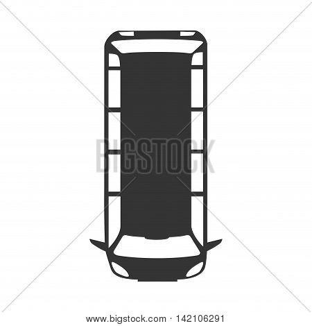 van wagon vehicle top transportation car sedan automobile vector graphic isolated and flat illustration