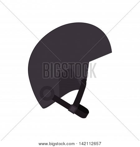 helmet sport winter snowboarding motorcycle security safe object vector graphic isolated and illustration