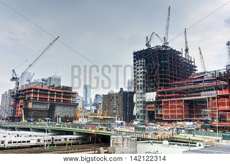 Hudson Yards Construction