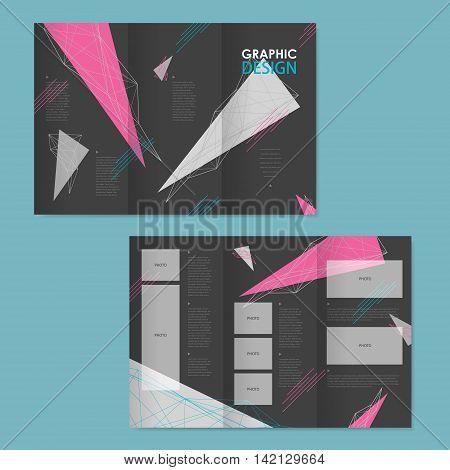 Lovely Tri-fold Brochure Template Design