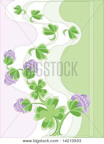 St patrick's day symbol,clover