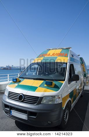 The Gibraltar Ambulance Service