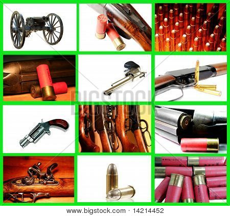 Weapons Collage