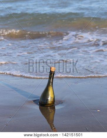 Bottle With A Secret Message