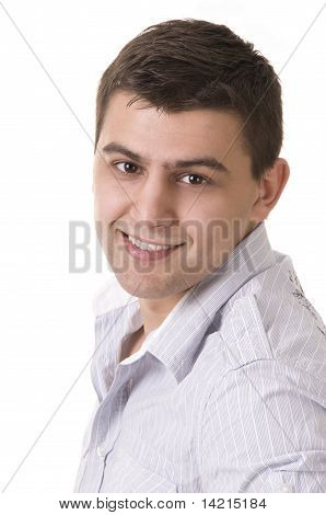 Casual Man Portrait - Smiling