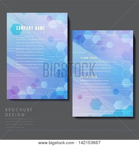High-tech Style Brochure Template Design