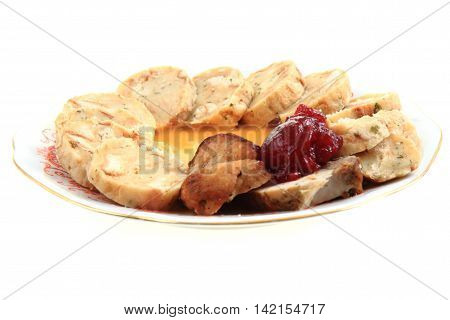 Czech Sirloin With Vegetable Sauce