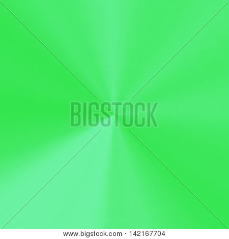 Abstract simple green background with center point