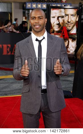 Omari Hardwick at the World premiere of