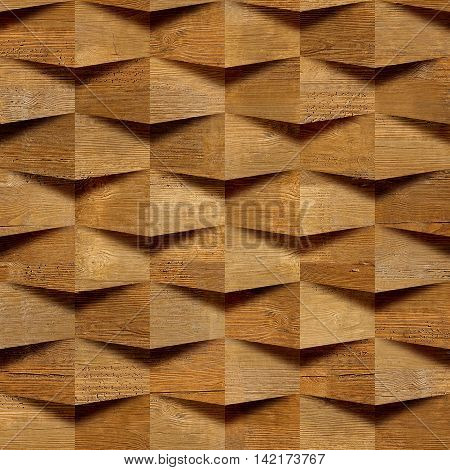 Wooden blocks stacked for seamless background veneer rosewood