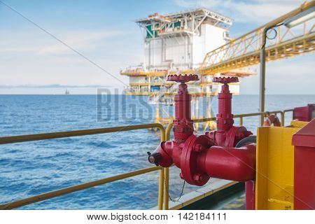 Fire hydrant Fire valveinstallation of fire safetySecurity fire system in industry or the process Fire valveinstallation of fire safetySecurity fire system in industry or the process
