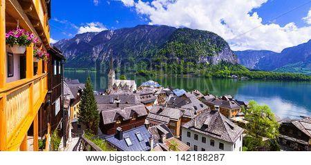 most beautiful villages of Europe - Hallstatt in Austria