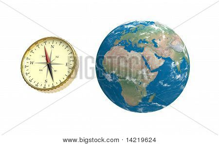 Compass And Globe