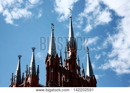 the Catholic Cathedral of the immaculate conception of Mary in Moscow