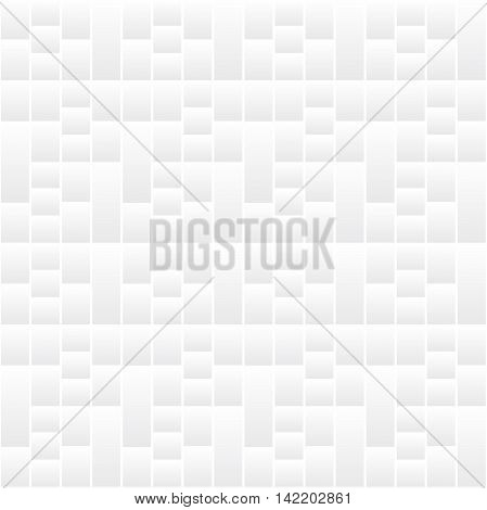 Modern white seamless pattern. Bacground can be used for graphic or website layout vector.