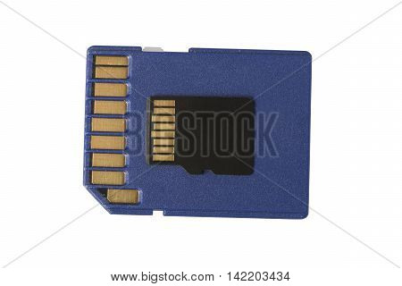 Micro Sd Card On Regular Size Sd Card