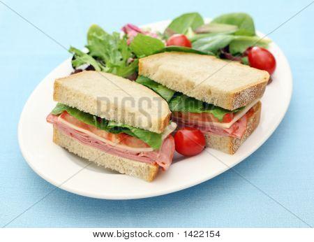 Black Forest Ham Sandwich