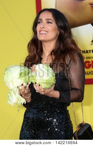 LOS ANGELES - AUG 9:  Salma Hayek at the