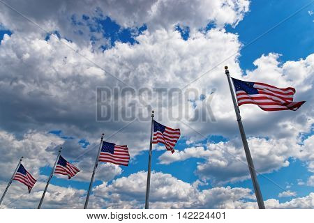 Flags Of United States Of America